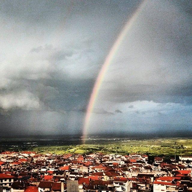 #Naoussa #rainbow