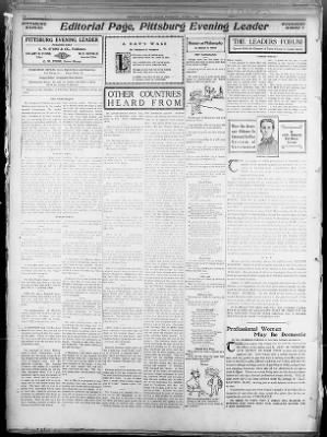 The Sun (Pittsburg, Kansas), Wednesday, March 7, 1906, Page 6