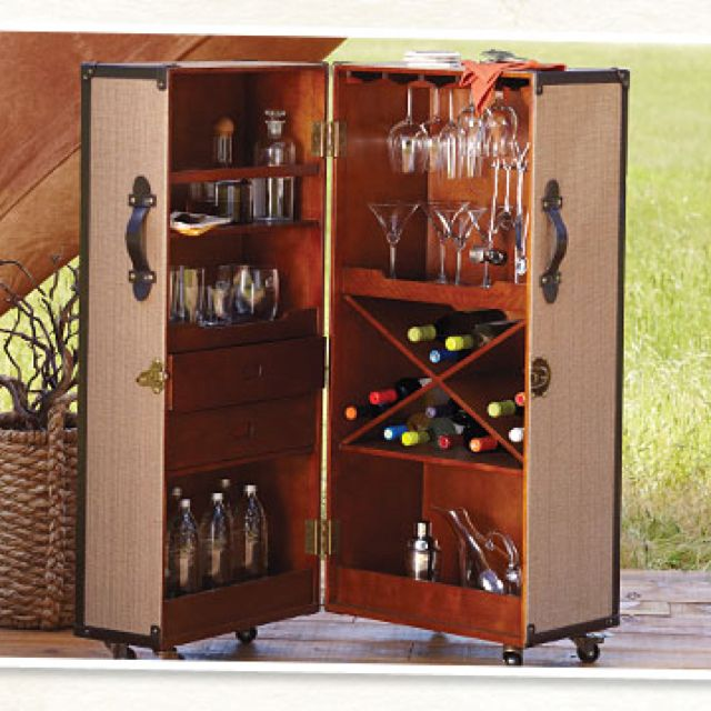 home bars bar trolley and portable bar on pinterest awesome portable wine cellar