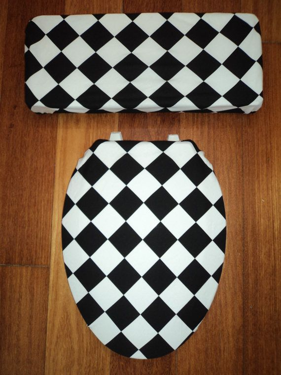 black square toilet seat. Black and White Diamond Toilet Seat Cover 29 best Seats images on Pinterest  seats Toilets