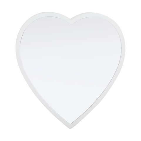 3D Heart Wall Mirror with LED Lights $9