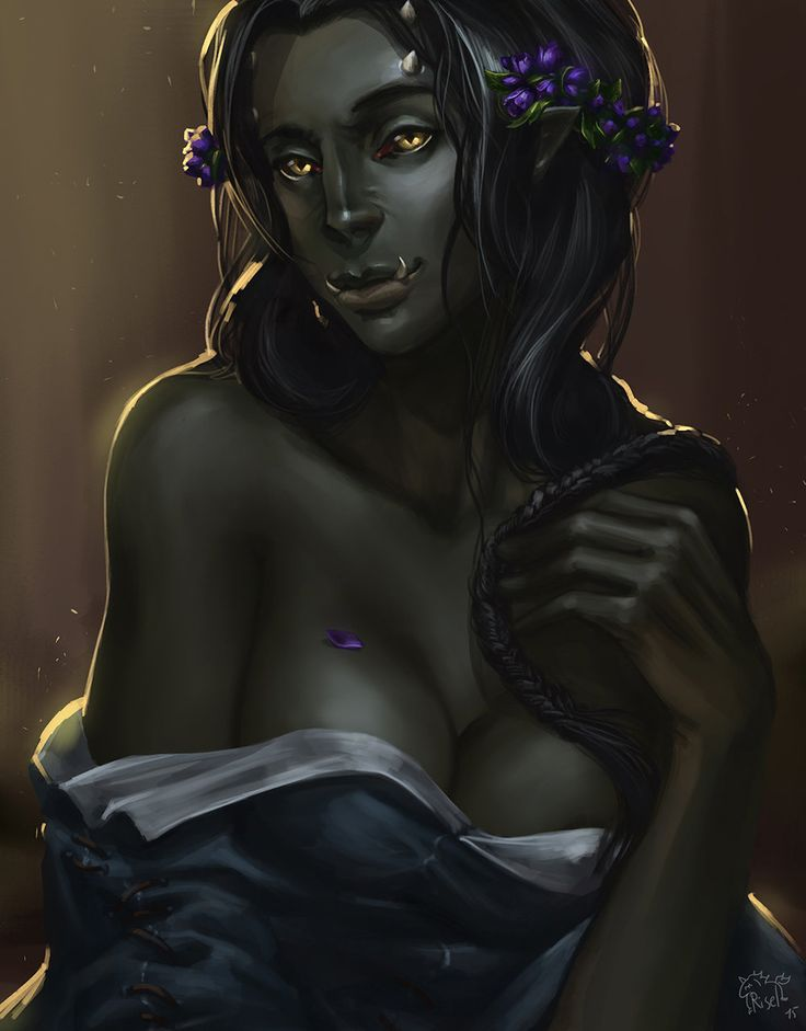Mistaken. Has half orc male naked was