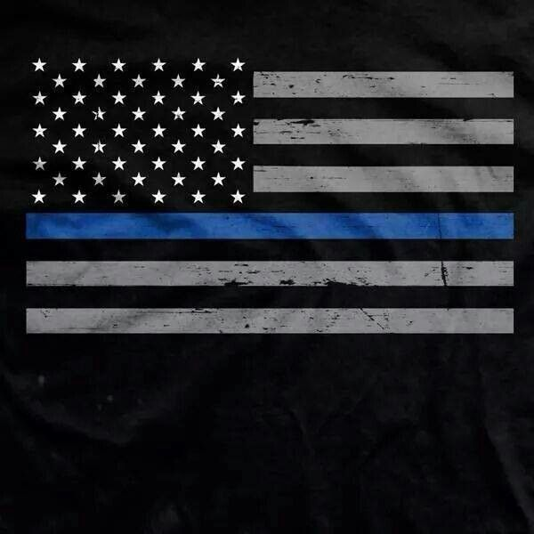 law enforcement american flag - photo #3