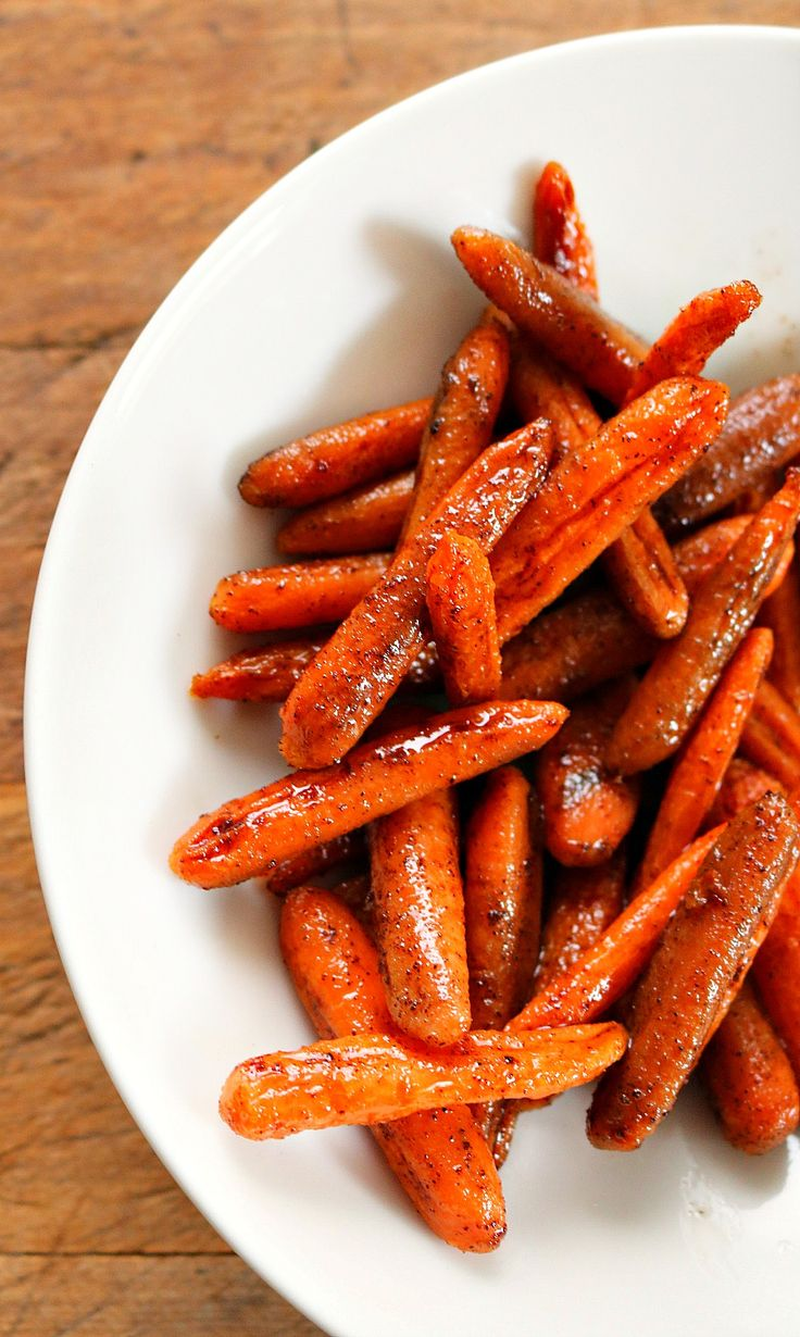 Honey Glazed Oven Roasted Carrots Recipe