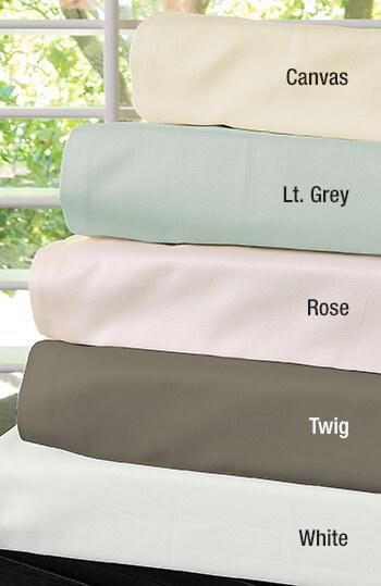 Warm Things Home 300 Cotton Percale Sheet Set