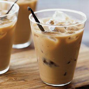 Vanilla Bean Iced Coffee.: Ice Cubes, Iced Coffee Recipes, Food, Beverages, Ice Coffee Recipes, Vanilla Beans, Vanilla Ice, Drinks, Beans Ice