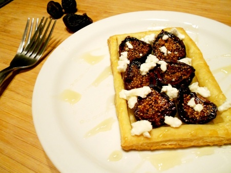 Fig & Goat Cheese Tart | Goats Cheese Tart, Cheese Tarts and Figs