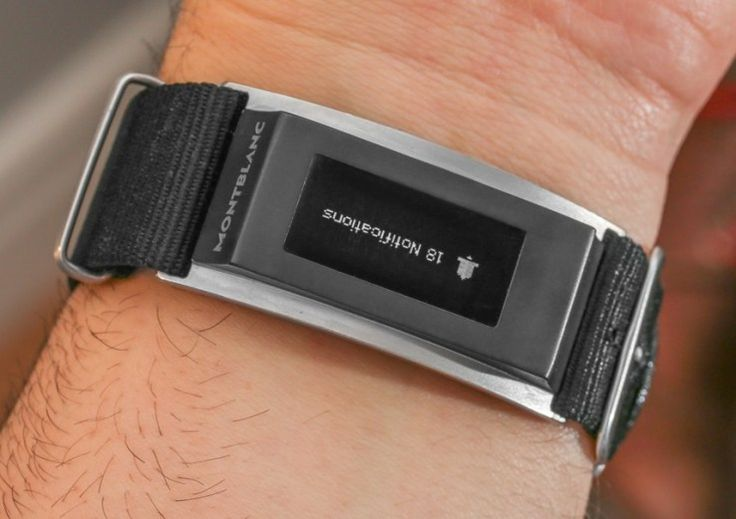 Here's A Closer Look At The Montblanc Smart Band For Fancy Watches | TechCrunch