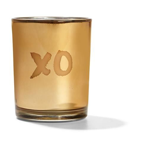 Copper Glass with Scented Candle- Fig & Vanilla | Kmart