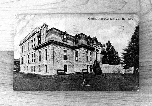 Vintage General Hospital Postcard | Editing Luke