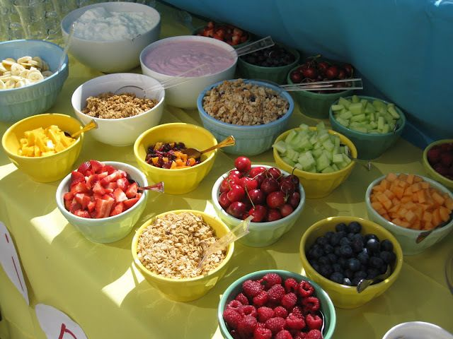Fruit Bar Ideas best 25+ yogurt parfait bar ideas on pinterest | birthday brunch