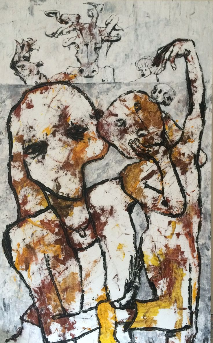 Uskyld/Innocense. Kell Jarner 2016. 125 x 200 cm.