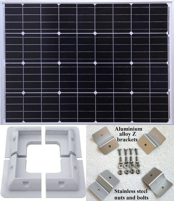 80w Solar Panel Kit Solar Panels Solar Panel Kits Solar