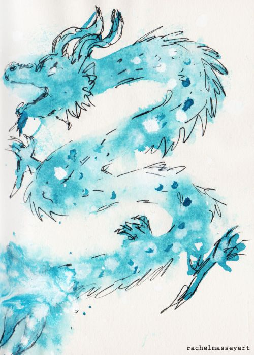 Inktober #31 | Dragon