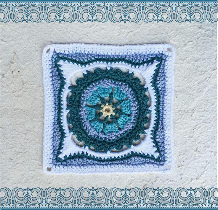 Moroccan crochet square #2   Vrouekeur