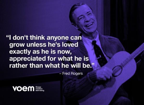 Wisdom from Mr. Rogers