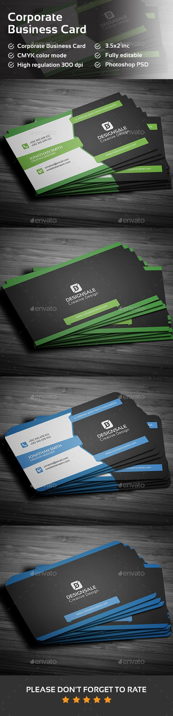 979 Best Business Card Template Style Images On Pinterest Business