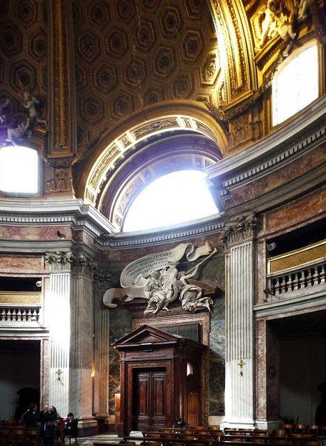Sant'Andrea al Quirinale Interior Door