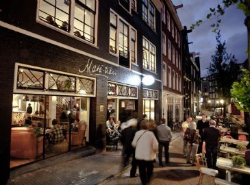 Bar Restaurant Living 'Mata Hari' - OUDEZIJDS ACHTERBURGWAL 22, AMSTERDAM