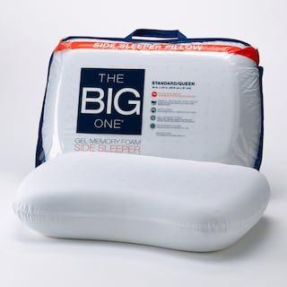The Big One® Gel Memory Foam Side Sleeper Pillow