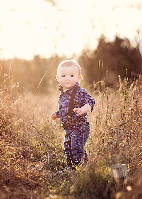 One year photo shoot. Like our park. Love the suspenders.