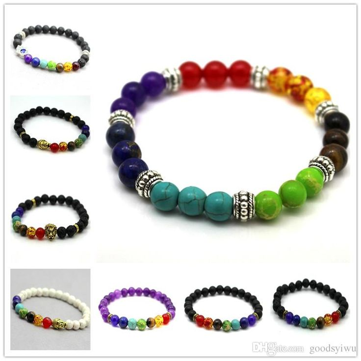 Wholesale cheap 7 chakra healing balance beads bracelet online, bracelets type - Find best fashion design mens bracelets black lava 7 chakra healing balance beads bracelet for men women rhinestone reiki prayer yoga bracelet stones at discount prices from Chinese beaded, strands supplier - goodsyiwu on DHgate.com.