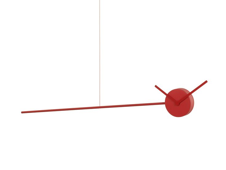 ECAL FOR ALESSI 'ora' by isaure bouyssonie is a clock mobile that suspends time