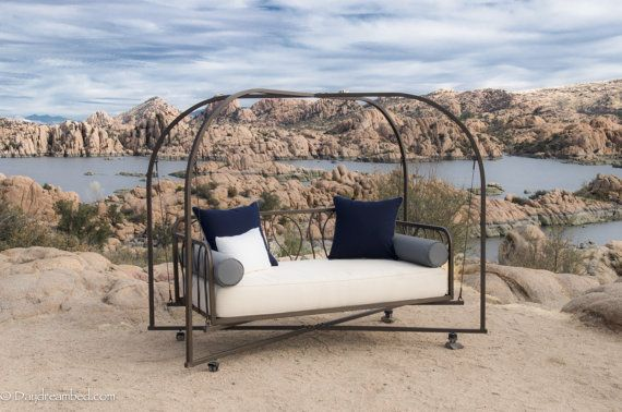 outdoor hanging bed patio swing daybed custom patio swing