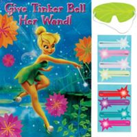 Tinkerbell Party Supplies - Tinkerbell Birthday Ideas - Party City - pin the wand on tink