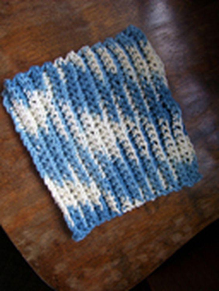 Mejores 18 imágenes de Crochet en Pinterest | Bayetas de ganchillo ...