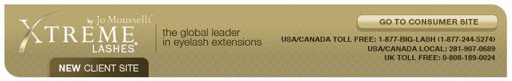 Xtreme Lashes Eyelash Extensions Training Program Schedule USA, Canada, UK