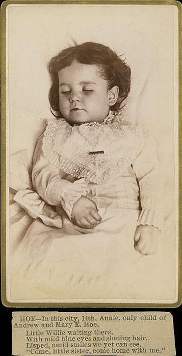 Post mortem ca. 1890s.