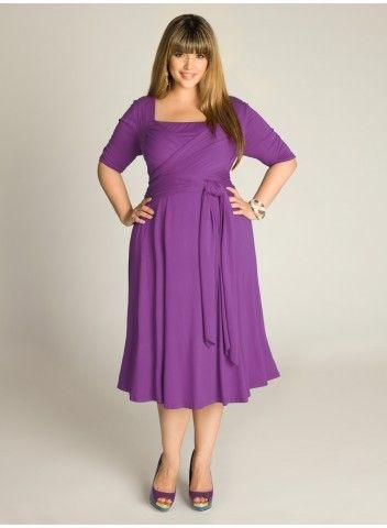 Tiffany Dress in Hyacinth is the perfect day dress for any occasion! IGIGI by Yuliya Raquel. www.igigi.com