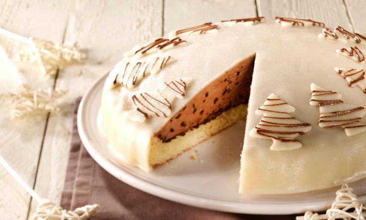 Nougat-Zimt-Sahne-Torte Rezept | Dr. Oetker