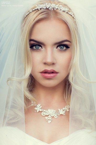 Свадебный макияж. Wedding make up.