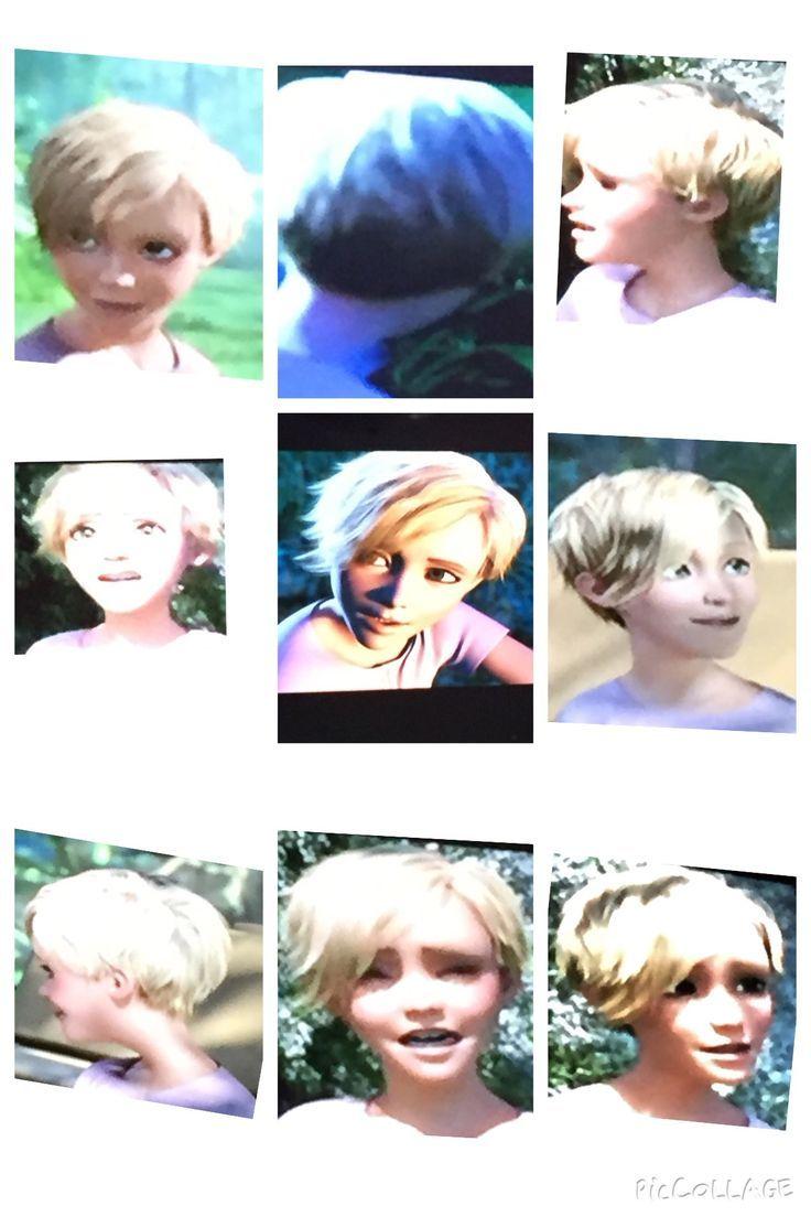 Tarzan 2013 Jane's cool asymmetrical short hair