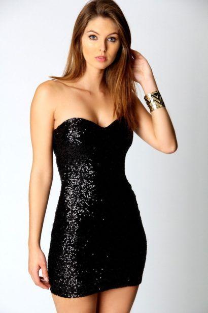 vestido tomara que caia curto justo