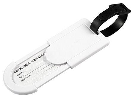 Identificador de Maletas Color Blanco