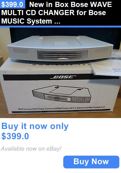 CD Players and Recorders: New In Box Bose Wave Multi Cd Changer For Bose Music System Platinum / White BUY IT NOW ONLY: $399.0