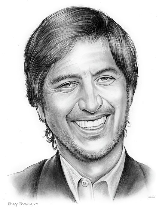 """Raymond Albert """"Ray"""" Romano (born December 21, 1957) is an American actor, stand-up comedian and screenwriter. He is best known for his role on the sitcom Everybody Loves Raymond, for which he received an Emmy Award, and as the voice of """"Manny"""" in the Ice Age film series. He created and starred in the TNT comedy-drama Men of a Certain Age . Romano had a recurring role as Hank Rizzoli, a love interest of Sarah Braverman in Parenthood. Source: Wikipedia sketch by GregJoens.com"""