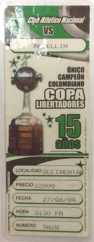 Campeones 27 de Junio de 2004