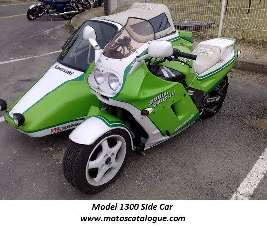 Godier-Genoud - France - Kawasaki engined - 1300 Sidecar ...