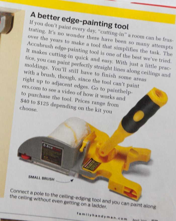 accubrush edge painting tool home dec diy pinterest