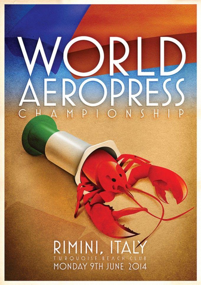 Aeropress competition in La Marzocco Pascucci Beach. 9 giugno 2014. Pascucci Rimini