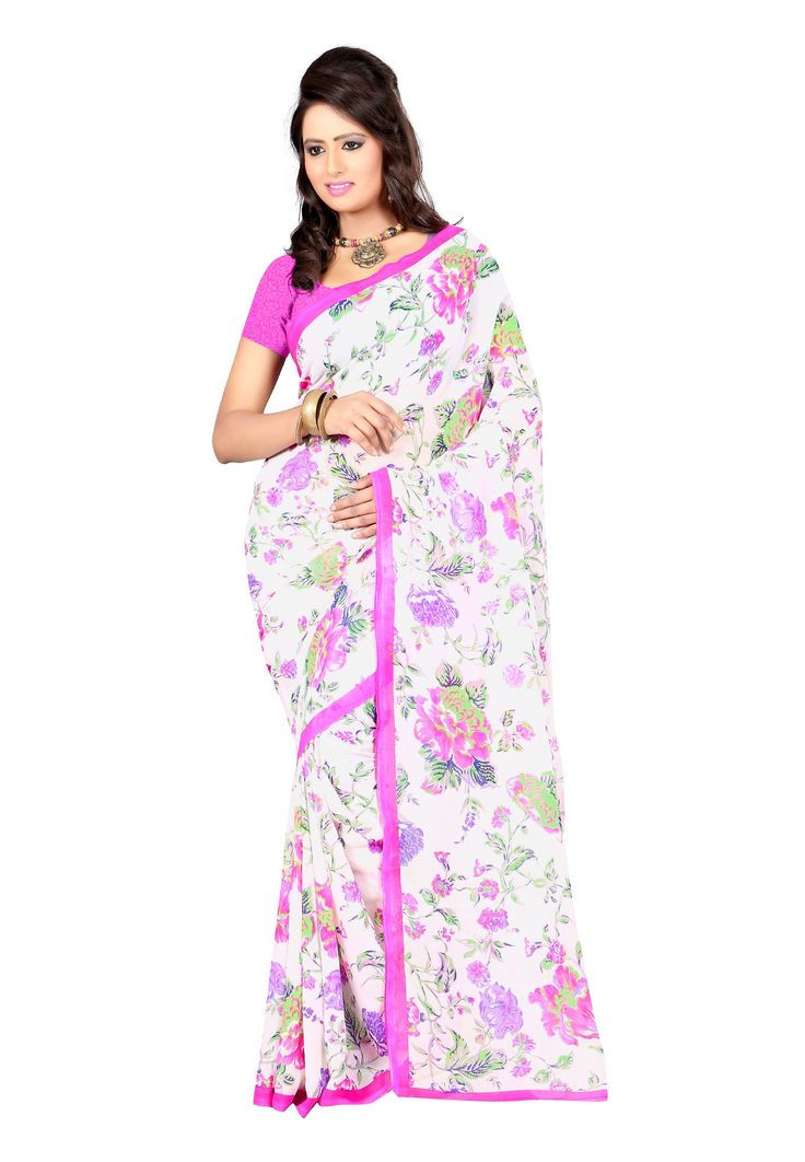 145 best printed saree images on pinterest printed sarees