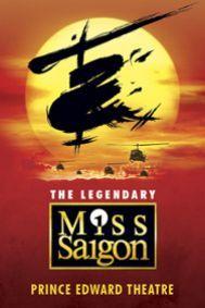Miss Saigon Tickets poster