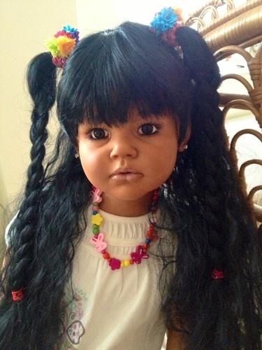 Reborn Ethnic Big Girl Angelica Reva Schick Sculpt Ooak