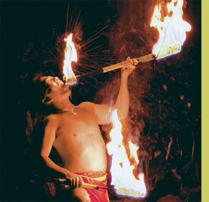 Kaanapali Beach Maui Luau Pic.  Know you love a fire dancer