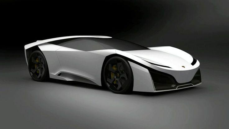 the HOT Lamborghini Madura Concept  - Scheduled for a 2016 release, this Lamborghini concept car is a hybrid work of Lamborghini and Audi designers. Slavche Tanevsky is the designer of this concept car.
