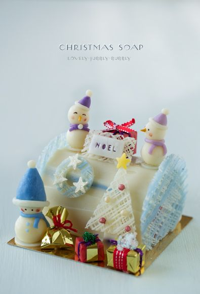 クリスマス石鹸 2013 : Lovely-Jubblyな日々